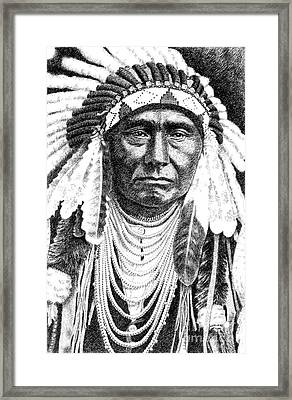 Chief-joseph Framed Print by Gordon Punt