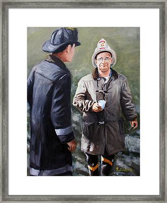 Chief Walsh Framed Print by Paul Walsh
