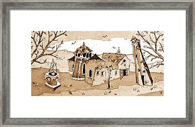 Chiesa San Giacomo Dall'orio Italia Framed Print by Arte Venezia