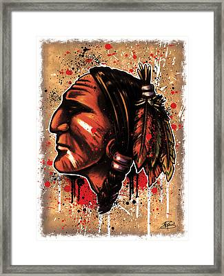 Chihawk Framed Print by Michael Figueroa