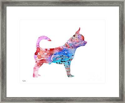 Chihuahua 2 Framed Print by Luke and Slavi