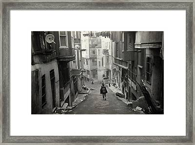 Child In Time Framed Print by Taylan Soyturk