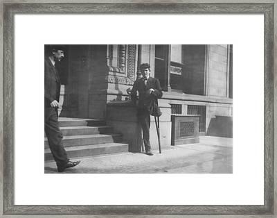 Child Labor, Boy With One Leg, Neil Framed Print by Everett