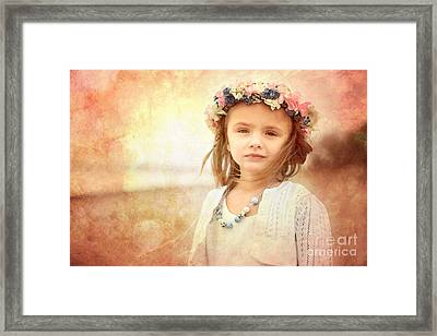 Childhood Dreams Framed Print by Cindy Singleton