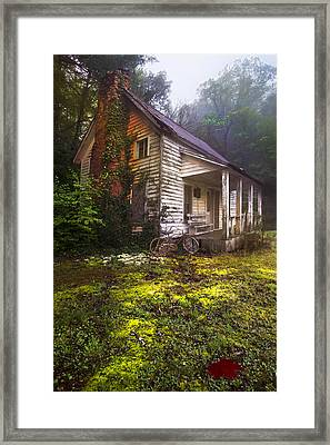 Childhood Dreams Framed Print by Debra and Dave Vanderlaan