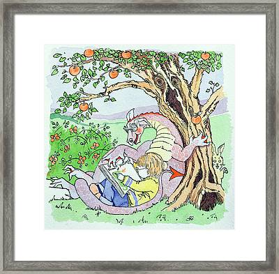 Childhood Dreams Framed Print by Suzanne Bailey