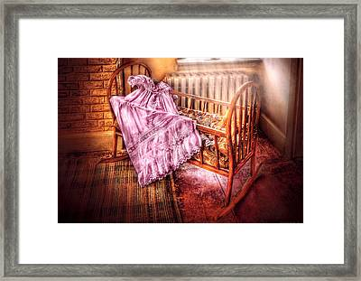 Children - It's A Girl Framed Print by Mike Savad