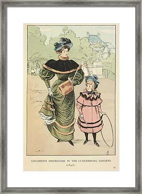 Children's Promenade Framed Print by British Library