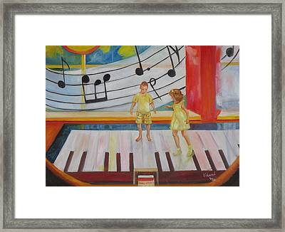 Childs Play Framed Print by Charme Curtin