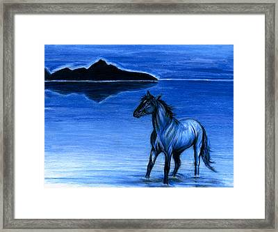 Chill Framed Print by Risa Kent
