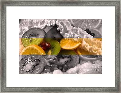 Chilled Framed Print by KJ Bruce - Infinity Fusion Art