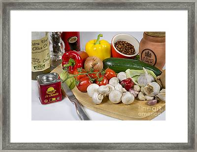 Chilli Con Carne Framed Print by Donald Davis