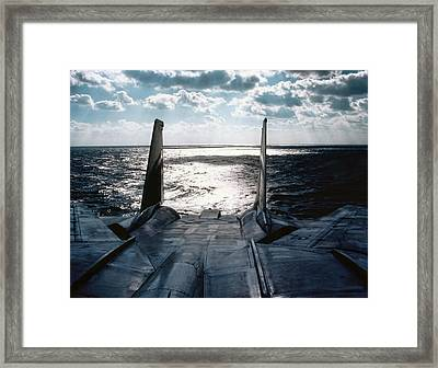 Chilling Out Framed Print by Peter Chilelli