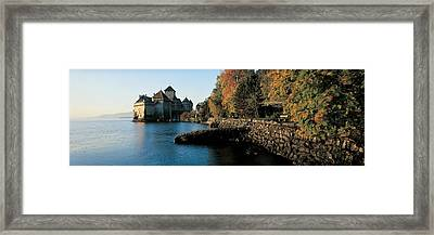 Chillon Castle Switzerland Framed Print by Panoramic Images