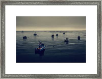 Chilly Willy Framed Print by Laurie Search
