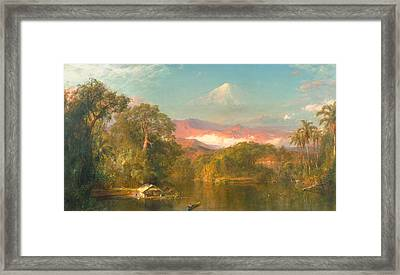 Chimborazo Framed Print by Frederic Edwin Church