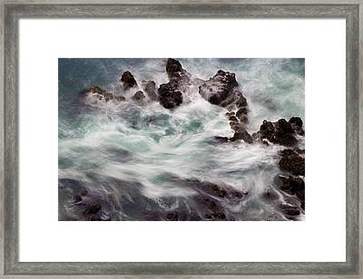 Chimerical Ocean Framed Print by Heidi Smith