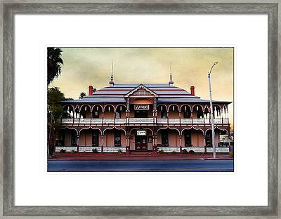 Chimes Antique Store Framed Print by Glenn McCarthy Art and Photography