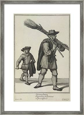 Chimney Sweep Framed Print by British Library