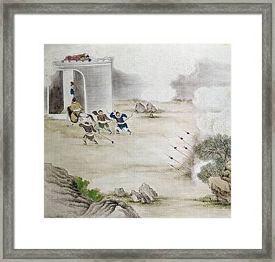 China Archers, C1820 Framed Print by Granger