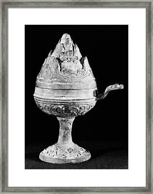 China Bronze Censer Framed Print by Granger