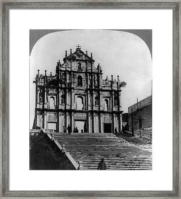 China Church, C1904 Framed Print by Granger
