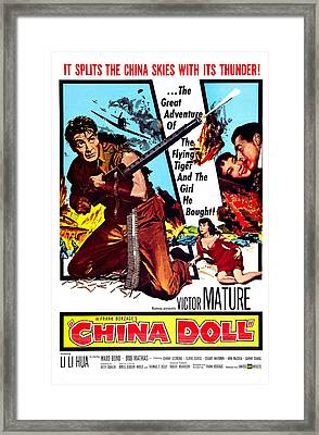China Doll, Us Poster, Victor Mature Framed Print by Everett