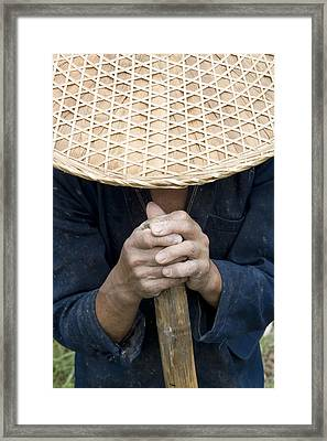 China. Guangxi Province. Guilin Framed Print by Tips Images