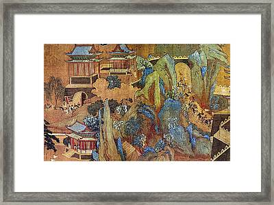 China Han Emperor Framed Print by Granger