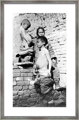 China Peasants, C1910 Framed Print by Granger