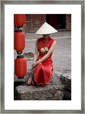 China, Yunnan Province, Shangri-la Framed Print by Tips Images