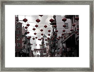 Chinatown Framed Print by Larry Butterworth