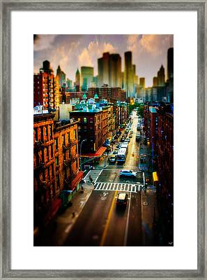 Chinatown Streets Framed Print by Chris Lord