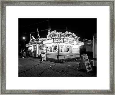 Chinese Food Framed Print by Linda Unger