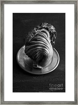 Chinese Mustard Framed Print by Elena Nosyreva