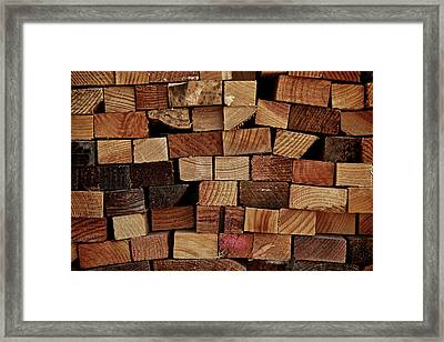 Chinese Puzzle Box Framed Print by Odd Jeppesen
