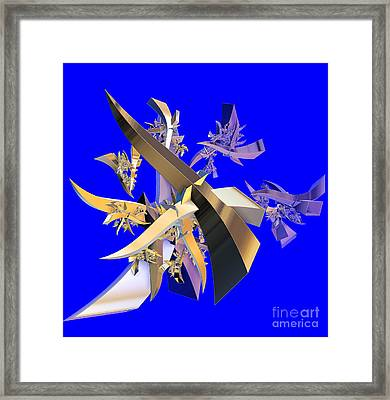 Chinese Puzzle Framed Print by Brian Raggatt