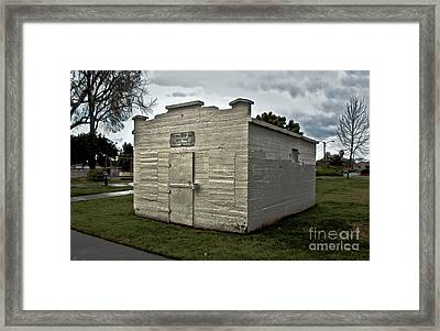 Chino Jail - 02 Framed Print by Gregory Dyer