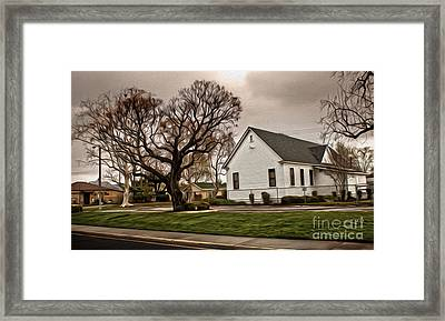 Chino Old School House - 04 Framed Print by Gregory Dyer