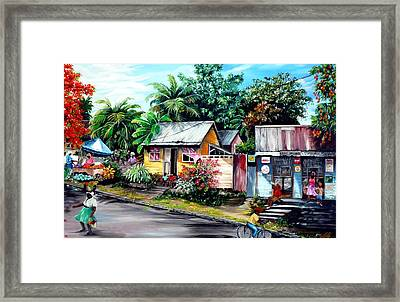 Chins Parlour     Framed Print by Karin  Dawn Kelshall- Best