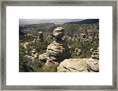 Chiricahua National Monument Framed Print by Mark Newman