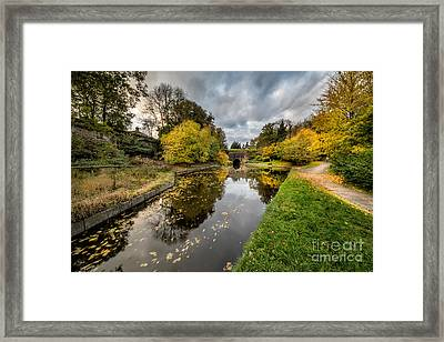 Chirk Canal Framed Print by Adrian Evans