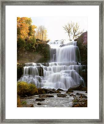 Chittenango Falls Framed Print by Rafael Macia