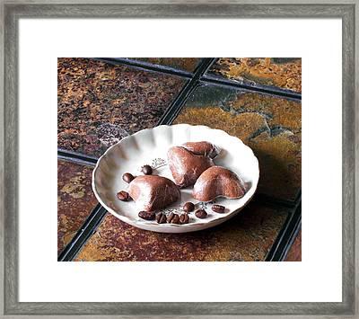 Chocolate Body Butter Framed Print by Anastasiya Malakhova
