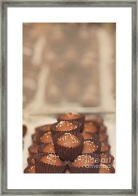 Chocolate Candy Shop Framed Print by Kay Pickens