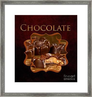 Chocolate Gallery Framed Print by Iris Richardson
