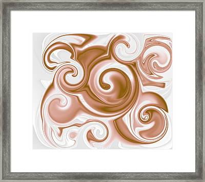 Chocolate Milk Take 2 Framed Print by Ron Hedges