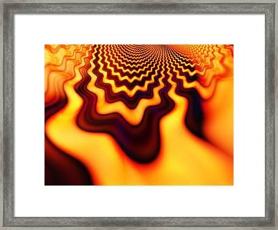 Chocolate Orange Framed Print by Ian Mitchell