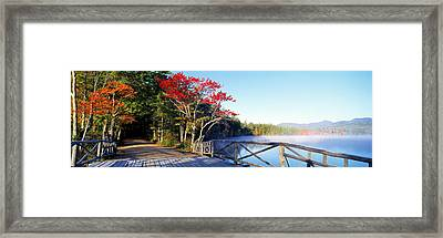Chocorua Lake White Mountains National Framed Print by Panoramic Images