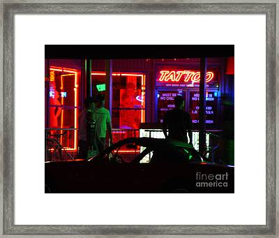 Choices After Midnight Framed Print by Peter Piatt